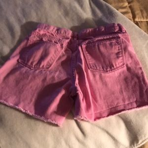 Old Navy Bottoms - Old navy girls pink jean shorts
